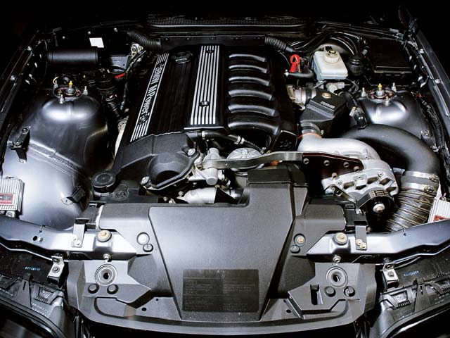 BMW e36 engine